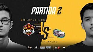 MAD Lions E.C. Colombia VS DP5 Makios | Cuartos de final | Golden League Clausura - Playoffs | Mapa 2