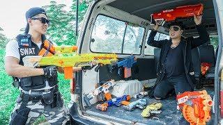 Video Nerf Guns War : Squad S.W.A.T Of SEAL TEAM Special Attack Assasin One Eye Leader Of Criminal Group MP3, 3GP, MP4, WEBM, AVI, FLV September 2019