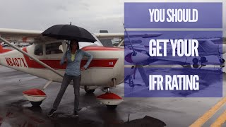 The reason why you need an instrument rating