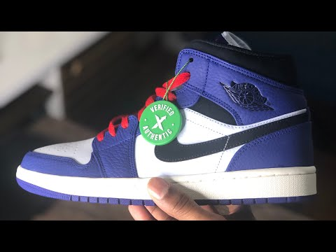 29a9ad626b83a1 Air Jordan 1 Mid SE Deep Royal Blue   Black Review! Cop or Drop  - Not Your  Average Sneakerhead - thtip.com