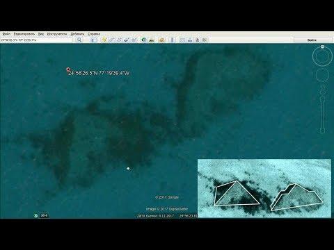 Две загадочные подводные пирамиды нашли во Флориде