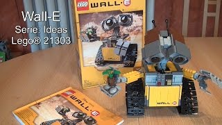 LEGO 21303 Wall-E Review (Test Ideas-Set deutsch)