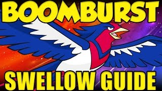 Swellow  - (Pokémon) - BOOMBURST SWELLOW OP! Pokemon Sun and Moon NEW Swellow Guide!
