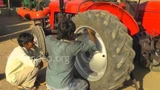 Tractor Tyre Change in Rajkot, Gujarat