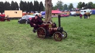preview picture of video 'Working Model Steam Engine Tractor at Country Show, St Albans'