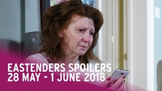 EastEnders Spoilers: 28 May - 1 June 2018 - Video Youtube