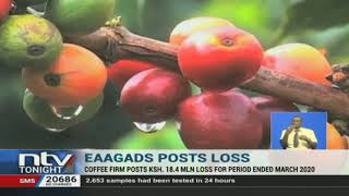EAAGADS has reported an Ksh18.4 M loss for the year ended March