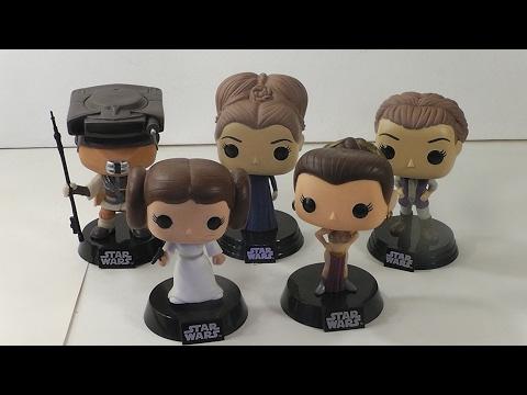 POP Funko overview: Princess Leia