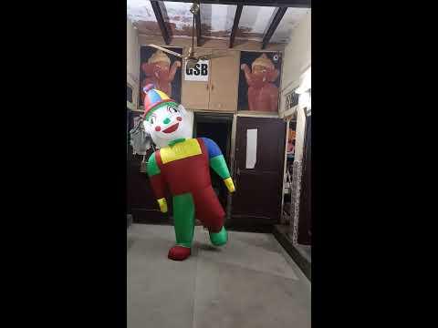 Joker Walking Inflatable Mascot