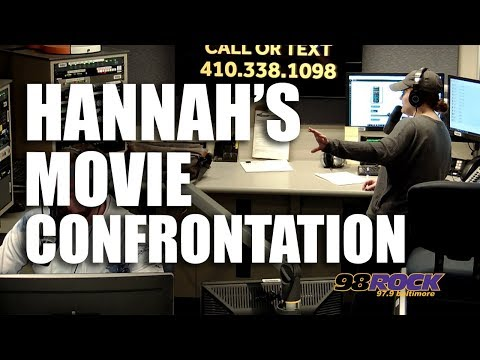 Hannah's Movie Theater Confrontation