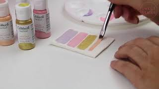Painted Swatch Tile - Edible Art Decorative Cake Paint