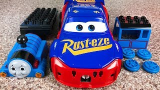 Assemble Thomas & Friends - Change Lightning mcqueen fabulous cars 3 - Build and Play Toys