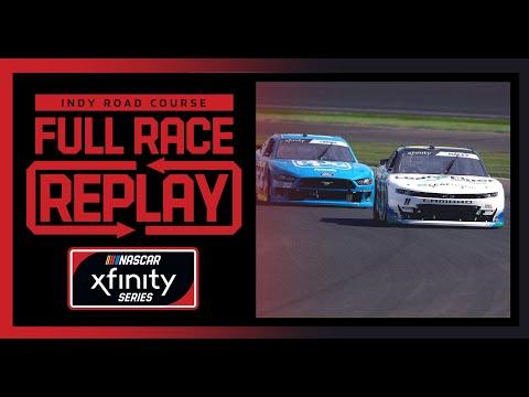 NASCAR ビッグマシン Vodka 400 (インディアナポリス・モーター・スピードウェイ)Xfinityクラスのフルレース動画