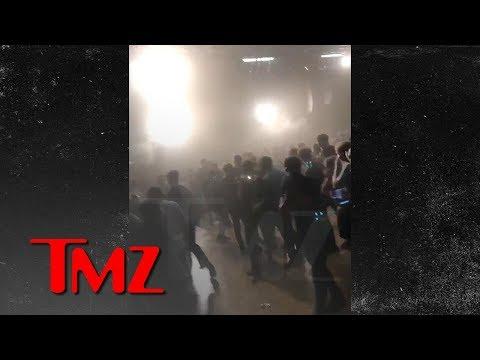 [TMZ] Lil Pump Fans Run From Gas Inside the Venue   TMZ