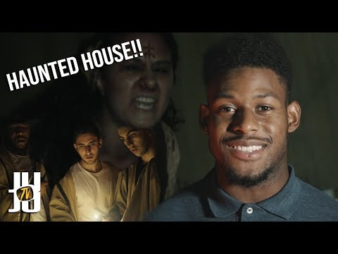 Insane Haunted House with JuJu Smith-Schuster!!