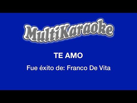 Te amo Franco de Vita