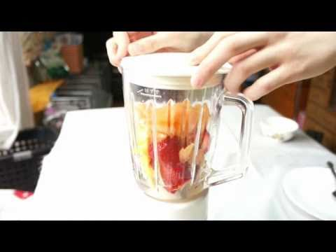 Video Strawberry and Orange Juice recipe 09 (Juicy Fruit Juice)