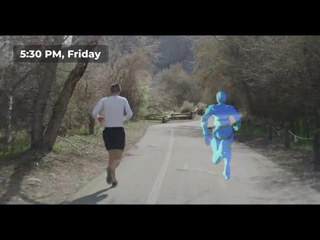 Гарнитура Ghost Pacer создаст вам напарника для тренировок в дополненной реальности