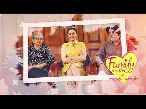 Tapsee Pannu | Family Matters with Priyanka Sinha Jha
