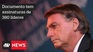 Lideranças religiosas pedem impeachment de Bolsonaro por 'desprezo pela vida'