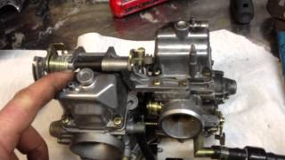 1995 Yamaha Virago 1100 Carb Removal / Clean / Reinstall