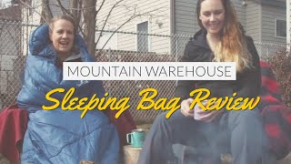 Campfire Coffee Chat April - Mountain warehouse Sleeping bag Review