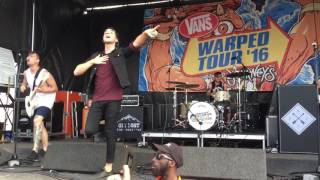 Chunk! No, Captain Chunk! - The Other Line Live (Warped Tour 2016)