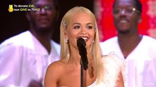 "Rita Ora ""Let You Love Me - Freedom"" BBC Children In Need Rocks 2018  720p"