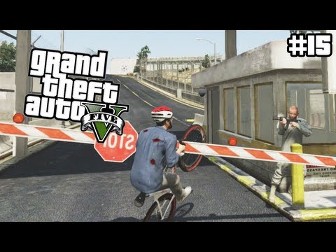 GTA 5 - Entering The Military Base On A Bike - (GTA V Lets Play #15) Mp3