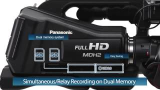 Panasonic Full-HD Camcorder HC-MDH2