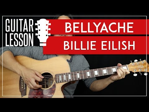 Download Bellyache Guitar Tutorial - Billie Eilish Guitar Lesson  |TABS + Easy Chords + Guitar Cover| Mp4 HD Video and MP3
