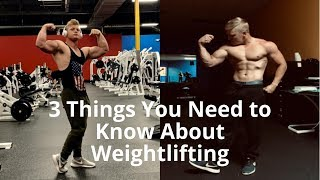 3 Things You Need to Know Before You Start Weightlifting