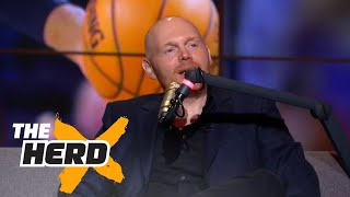 Bill Burr talks Boston Celtics,  'F is for Family' season 2 and more | THE HERD (FULL INTERVIEW)