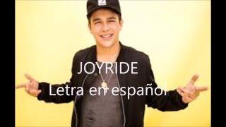Austin Mahone - Joyride (letra en español)