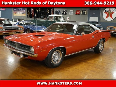 Video of Classic '70 Plymouth Cuda located in Homer City Pennsylvania - $72,900.00 Offered by Hanksters Hot Rods - PW8Q