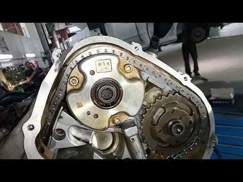 Фото к видео: Замена цепи Аugi А6 3.0 л.TFSI