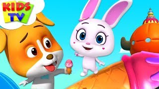 Lilys Ice Scream | Loco Nuts Cartoon Shows | Videos For Toddlers | Kids TV