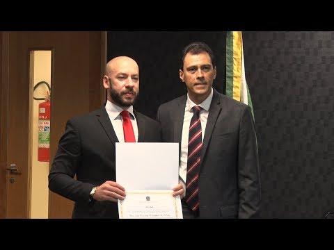 Vinicius Claussen é diplomado como prefeito de Teresópolis