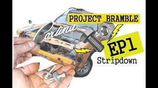 Mk3 Cortina - PROJECT BRAMBLE EP1