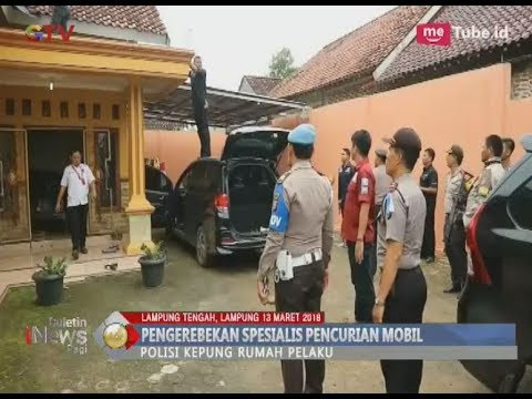 Penggerebekan Rumah Rampok Spesialis Mobil di Lampung Tengah - BIP 14/03