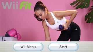 Emily Oberg Getting Jiggy To Nintendo Wii Music.