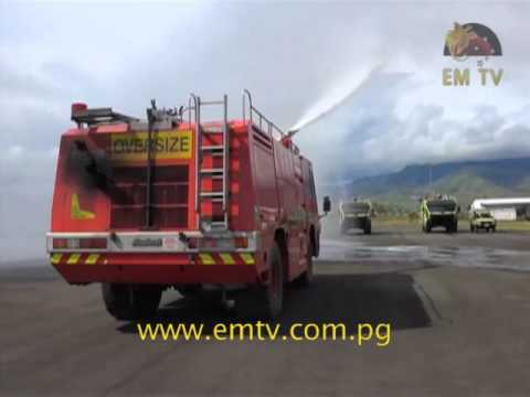 Oshkosh ARFF commissioned in Papua New Guinea