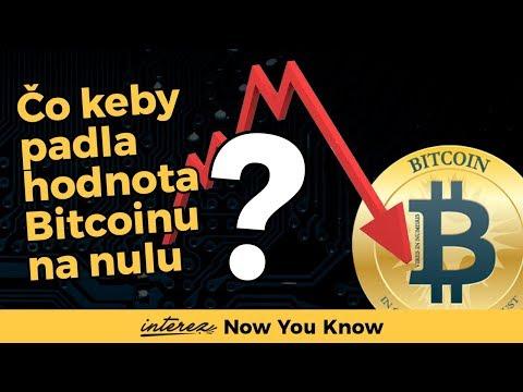 Čo by sa stalo, keby padla hodnota bitcoinu na nulu?