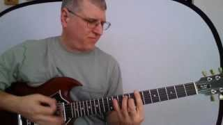 Guitar Lesson - Hard as a Rock (AC/DC)