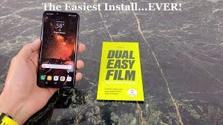 Ringke Dual Easy Film Screen Protector Review LG G8 ThinQ
