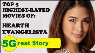Top 5 Highest-Rated Movies of Hearth Evangelista