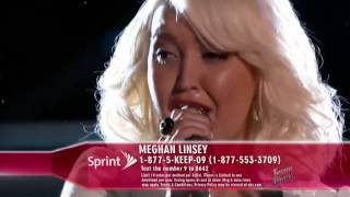 The Voice American 2015 - Playoff - Meghan Linsey -  Love Runs Out - Top The Voices