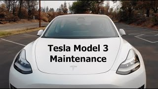Tesla Model 3 Maintenance