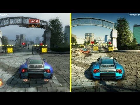 Download Burnout Paradise Vs Remastered Graphics Comparison Video
