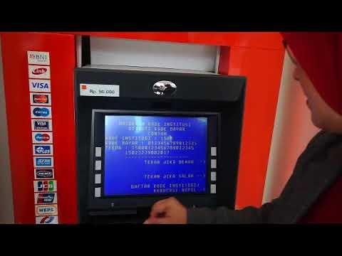 """#BNI ATM """"Pembayaran e-samsat"""""""